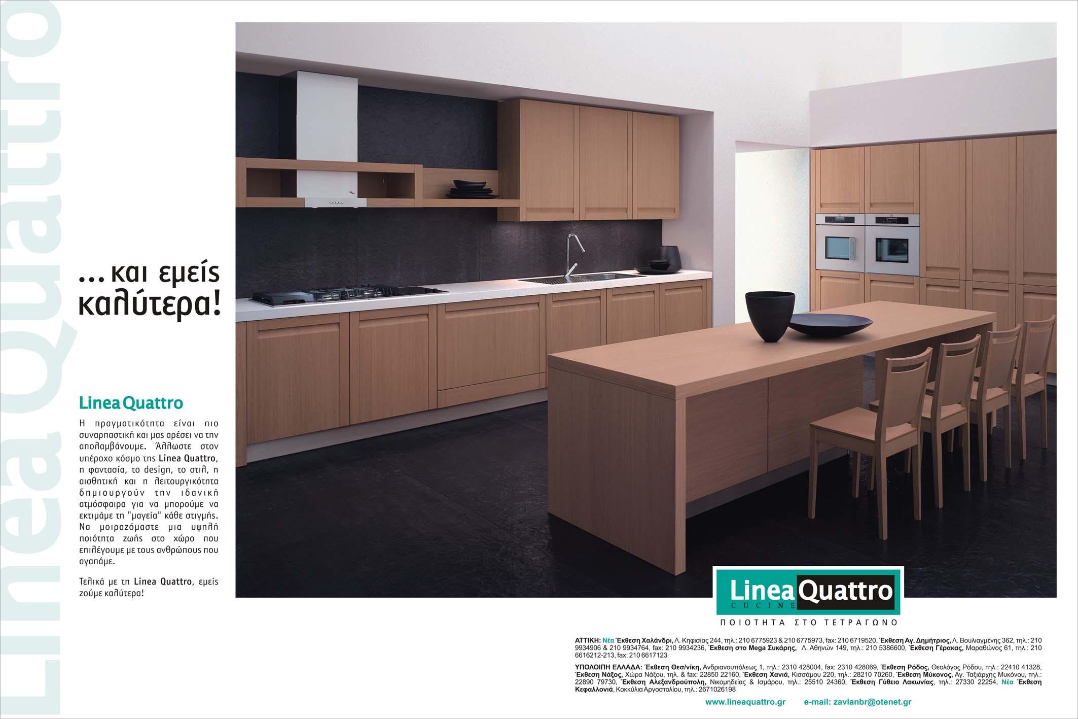 Linea Quattro. Elegant Ambra Kitchen With Linea Quattro. Finest ...